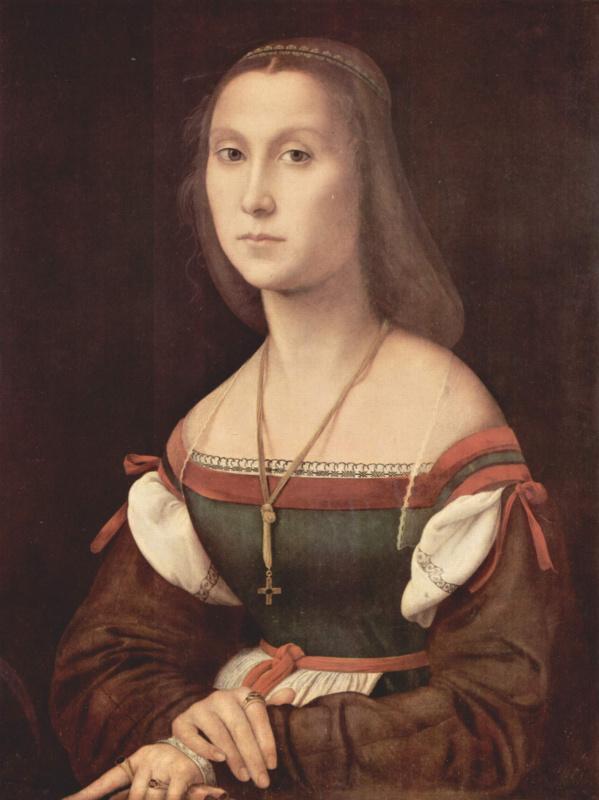 Рафаэль Санти. Портрет дамы