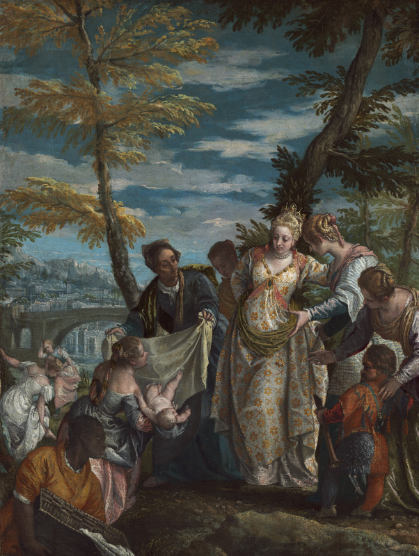 Paolo Veronese. Finding Moses