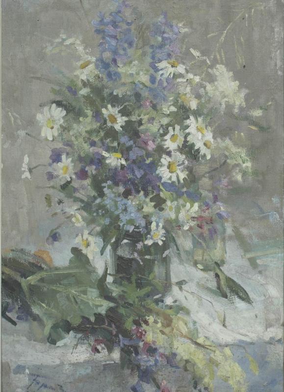 Евгений Иванович Бригадиров. Цветы