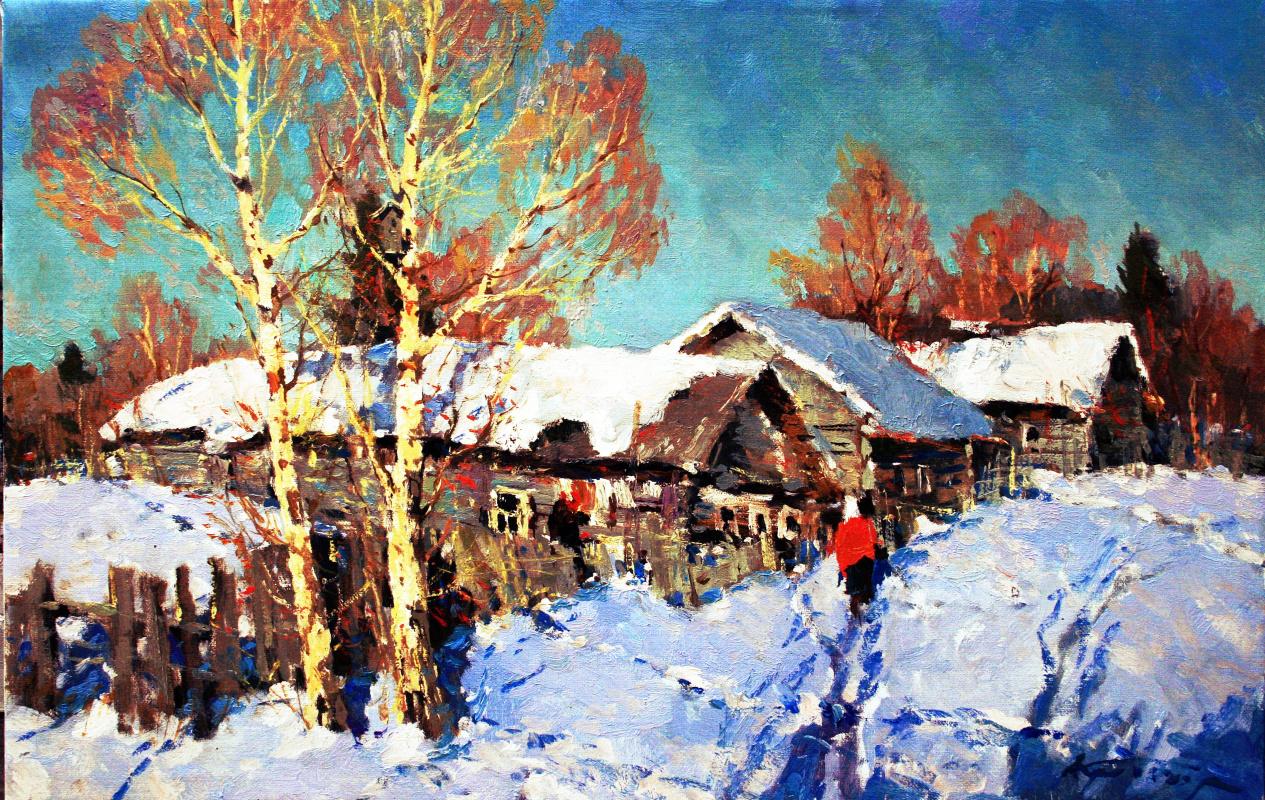 Alexander Markovich Kremer. In the village