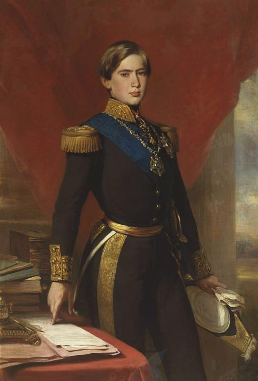 Franz Xaver Winterhalter. Pedro V, king of Portugal