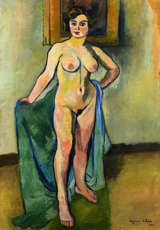 Suzanne Valadon. Big nude with drapery