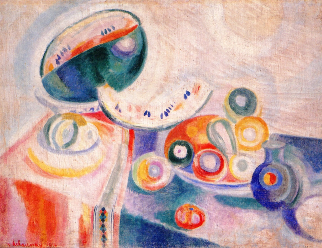 Robert Delaunay. Portugese Still LIfe