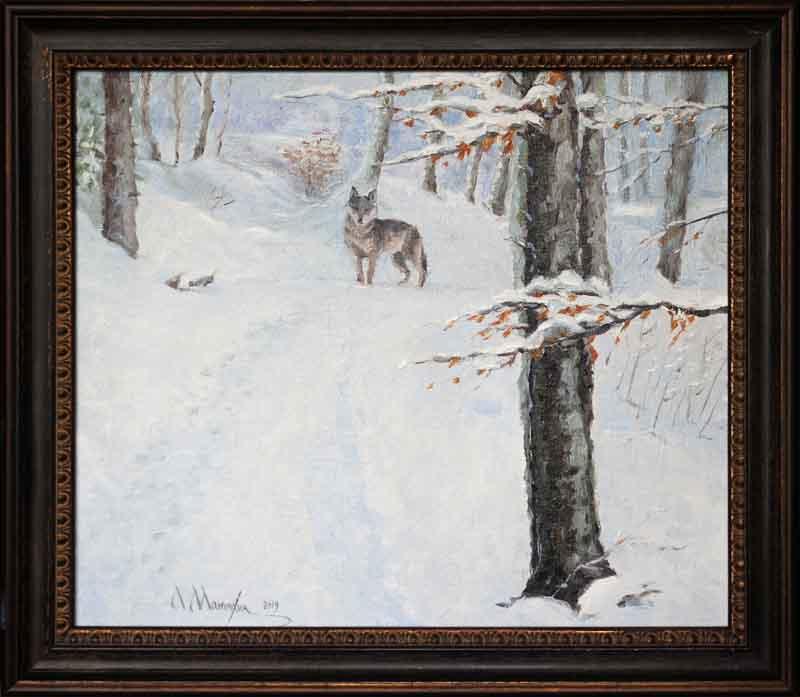 Alexander Matyukhin. And here is the gray ... (30x35 cm)