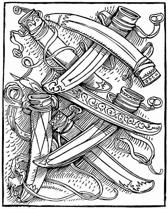 Ханс Бальдунг. Семь ножен