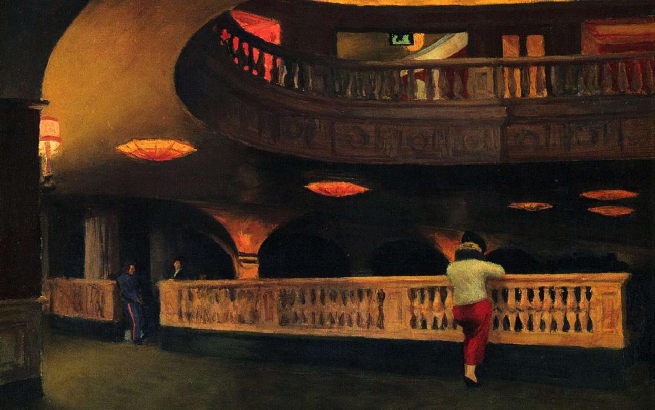 Edward Hopper. Theatre Sheridan