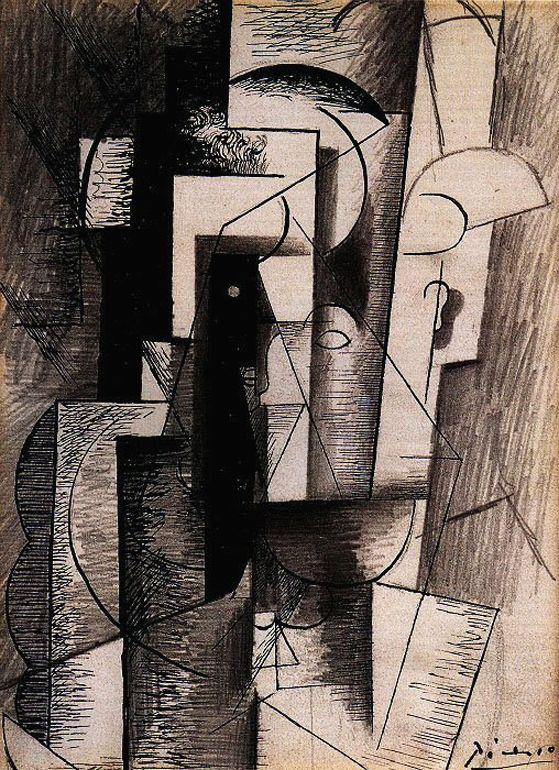 Пабло Пикассо. Портрет Гийома Аполлинера