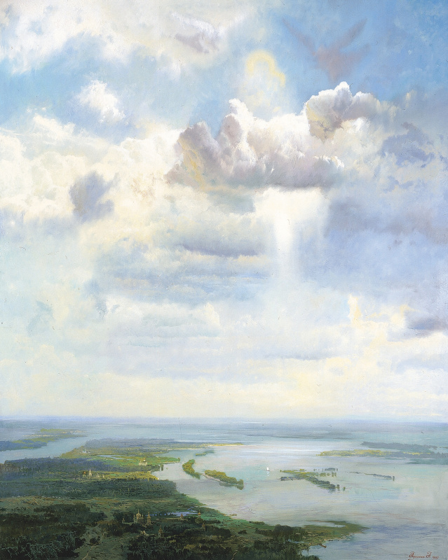Alexander Afonin. The Sky Of Holy Russia