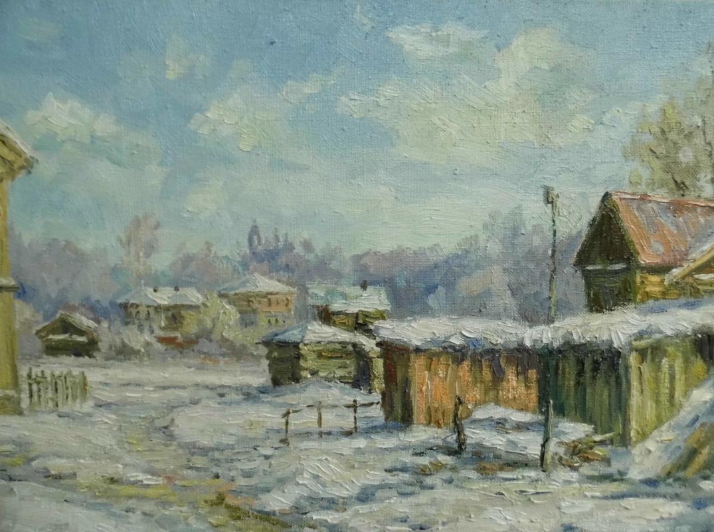 Victor Vladimirovich Kuryanov. Backyard