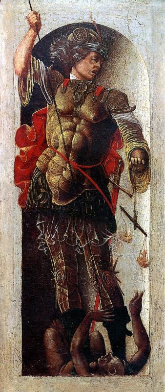 Эрколе де' Роберти. Святой Михаил
