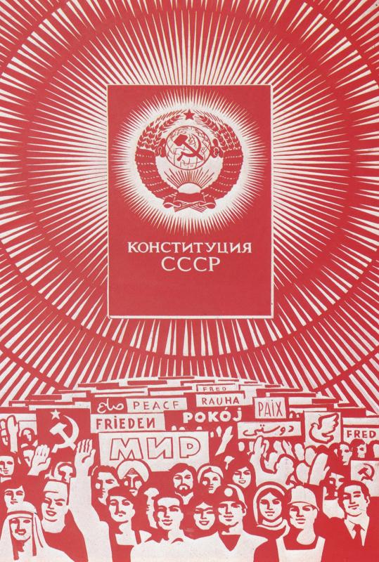 Борис Георгиевич Резанов. Конституция СССР
