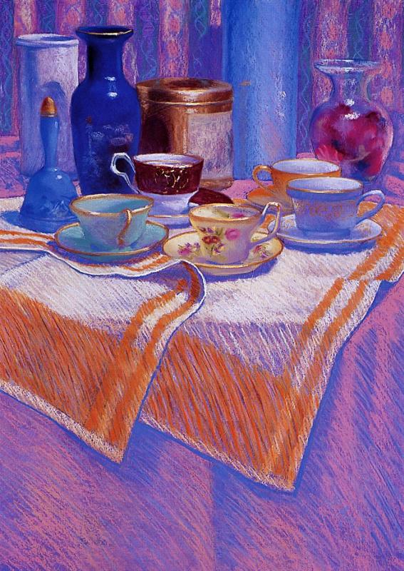 Барбара Амос. Чашки и ваза
