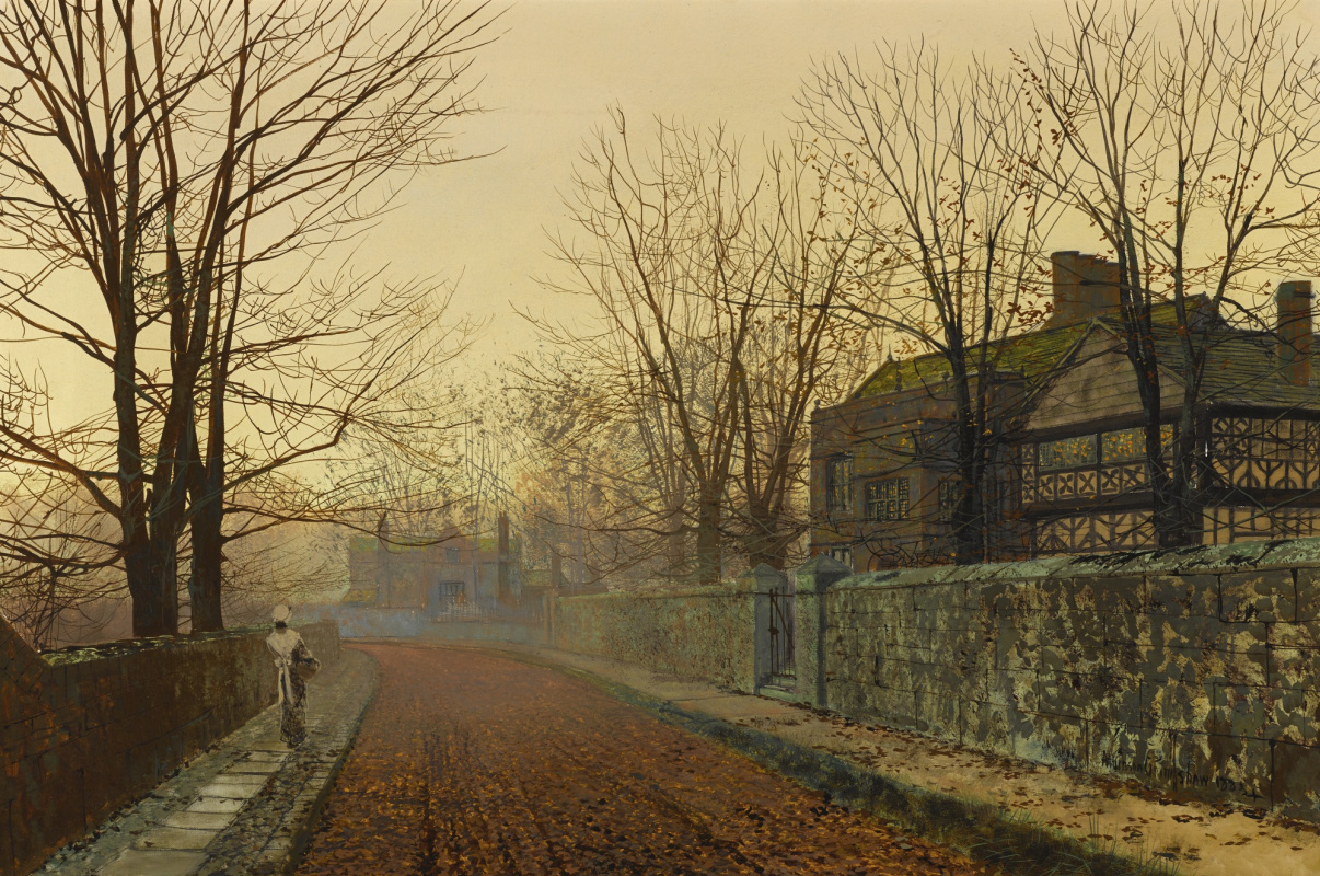 John Atkinson Grimshaw. November morning