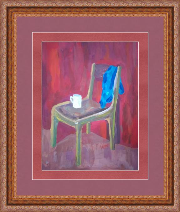Art-Teodor Gallery. Gogi chair, gouache