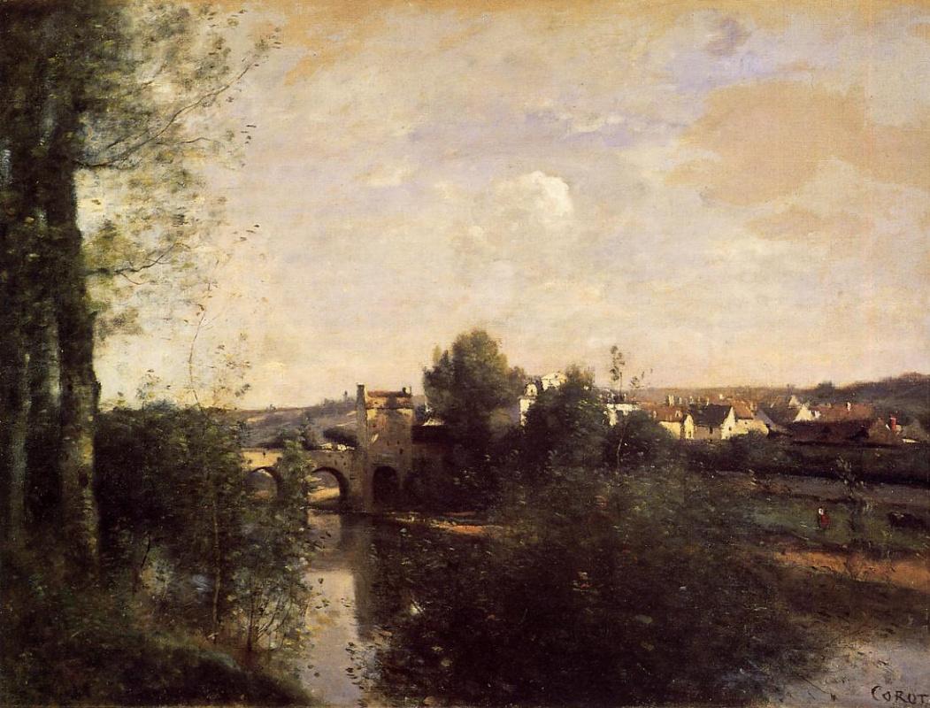 Камиль Коро. Старый мост