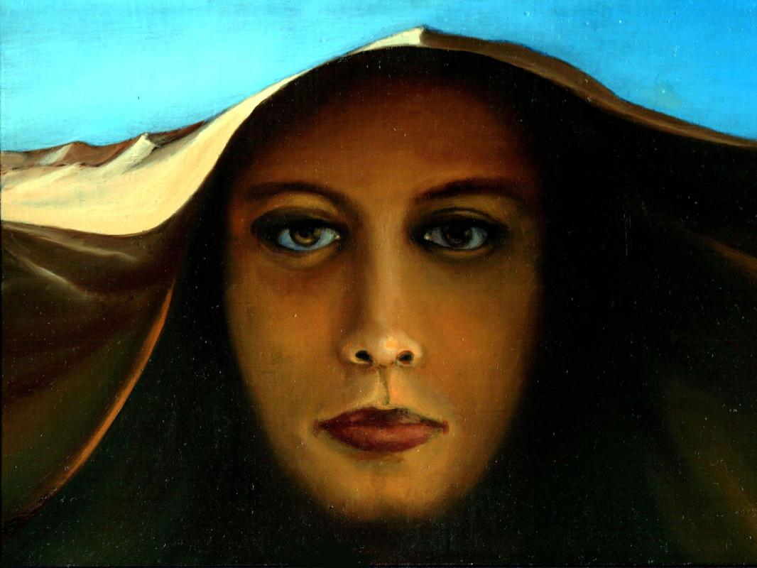 Vladimir Vasilyevich Abaimov. Woman in the Sand