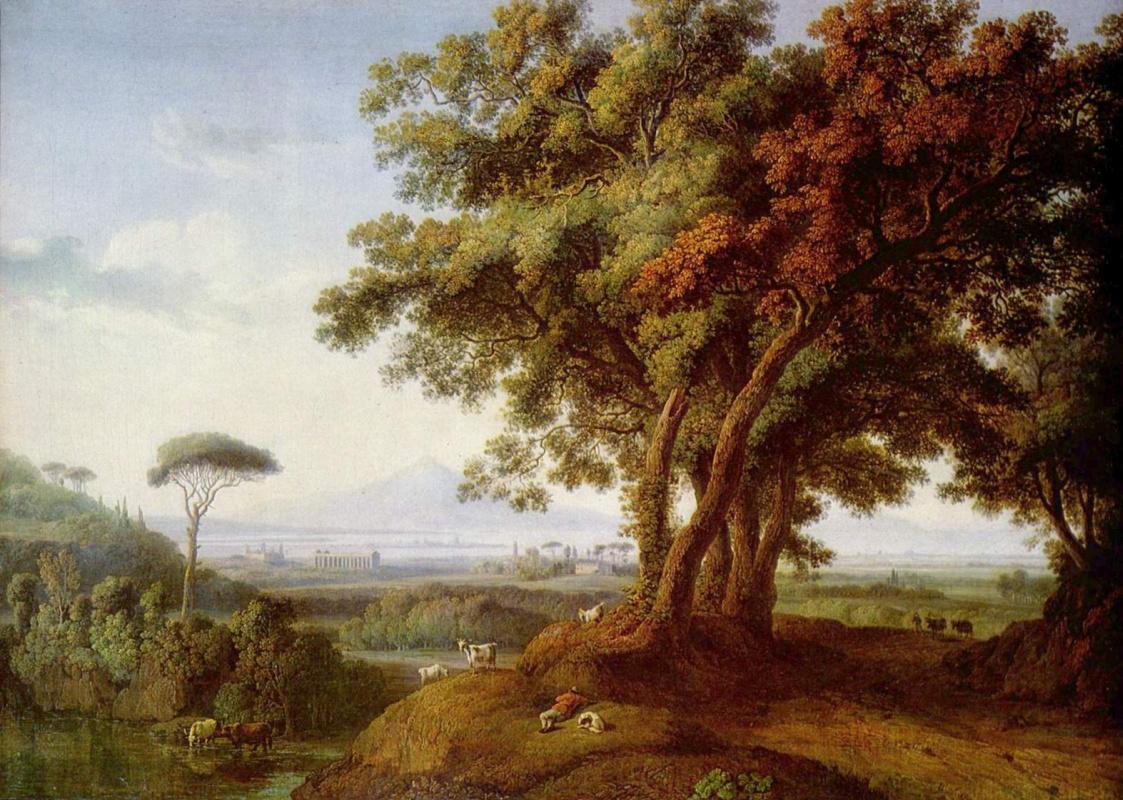 Якоб Филипп Хаккерт. Итальянский пейзаж