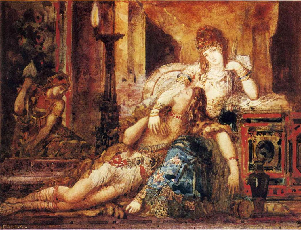 Гюстав Моро. Самсон и Далила