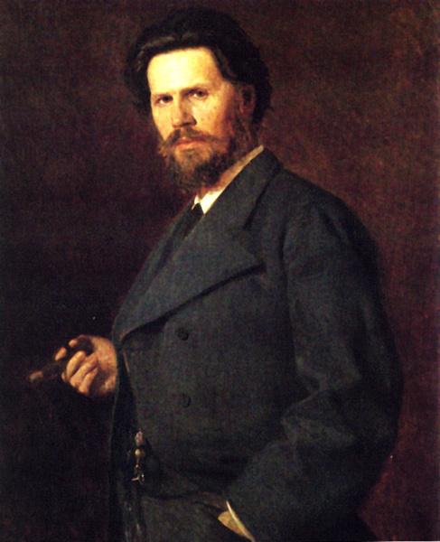 Николай Александрович Ярошенко. Портрет Крамского