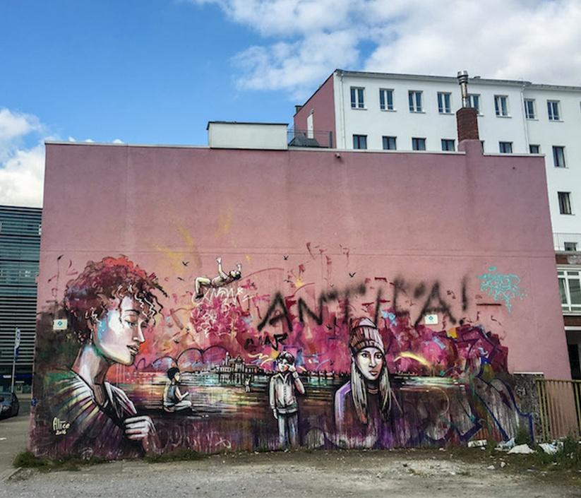 Alice Pascini. Mural in Dortmund