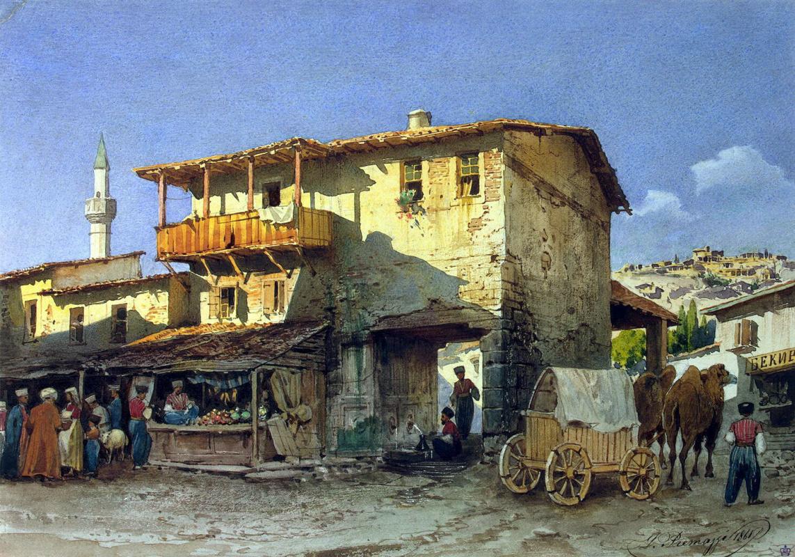 Луиджи Премацци. Южный базар