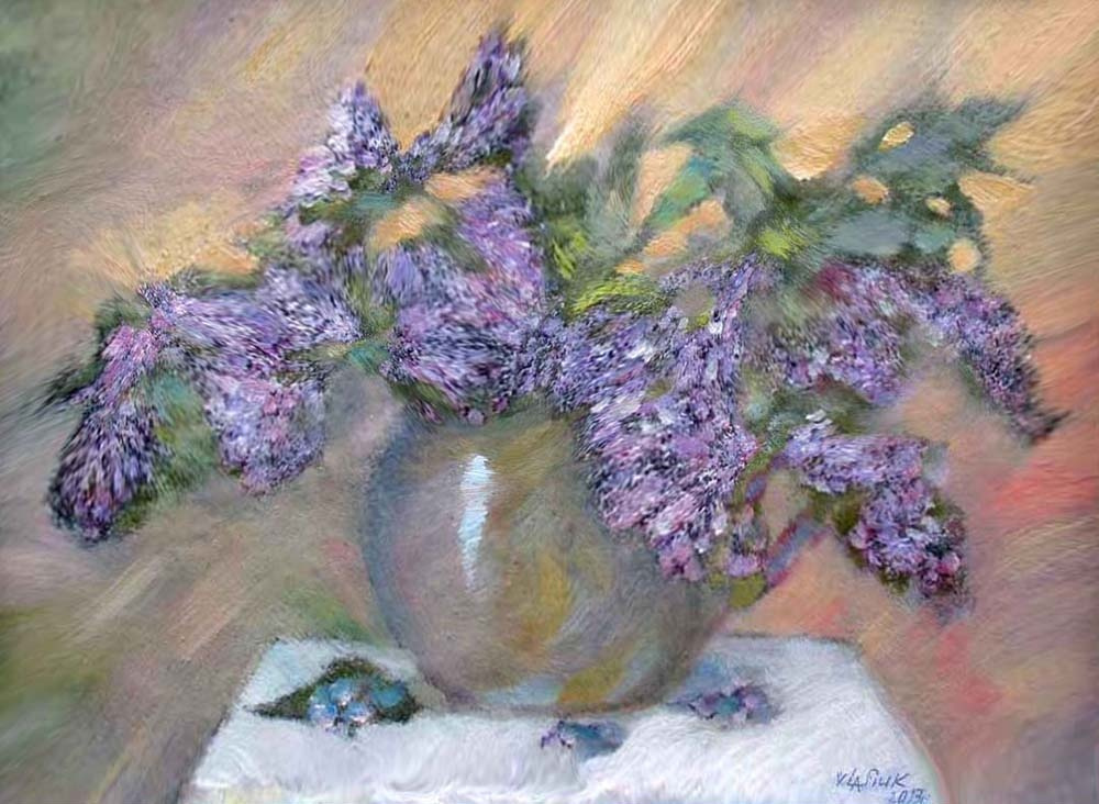 Alexander Ivanovich Vlasyuk. 3-lilac