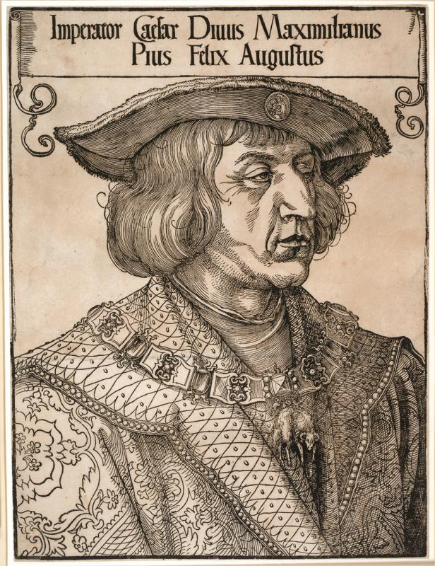 Albrecht Durer. Emperor Maximilian I