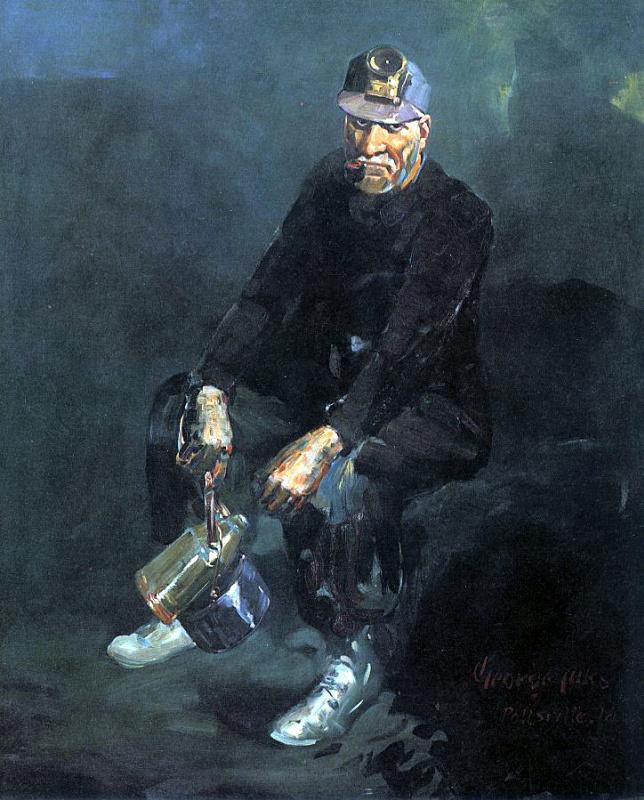 Мужчина с трубкой