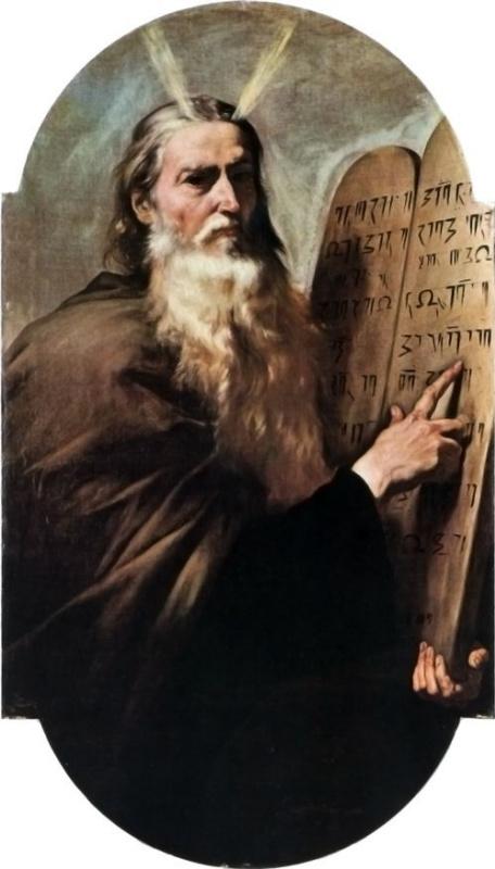 Хосе де Рибера. Моисей