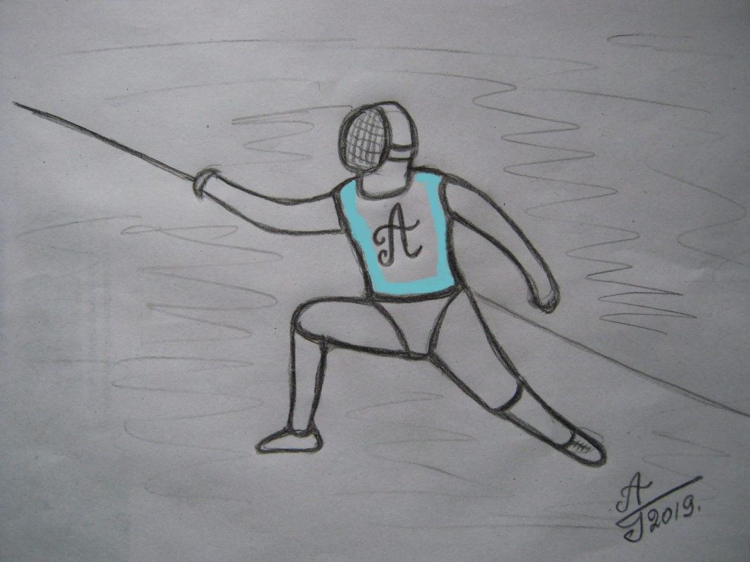 Alexey Grishankov (Alegri). Fencing