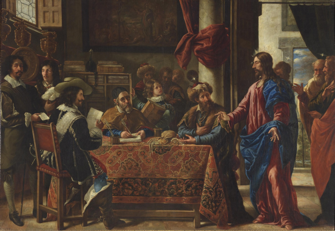 Хуан де Пареха. Призвание св. Матфея