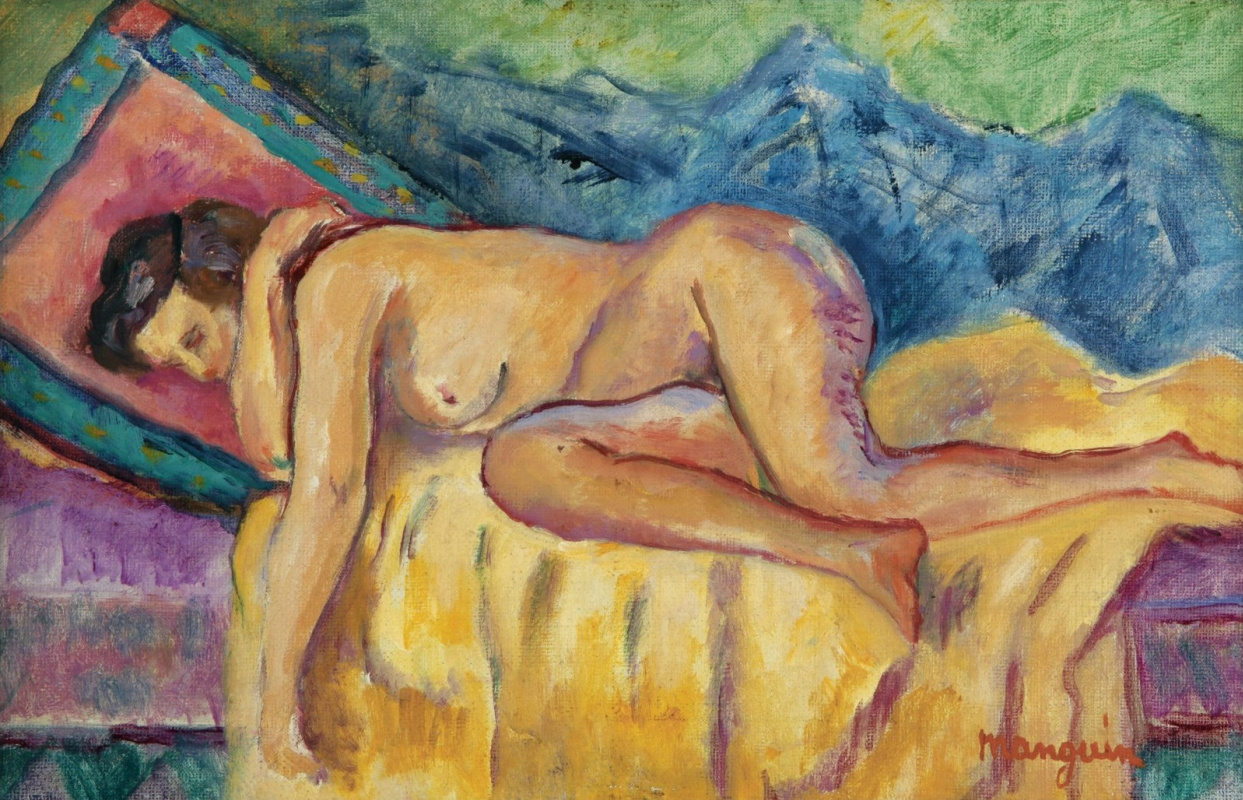 Henri Manguin. Sleeping Nude