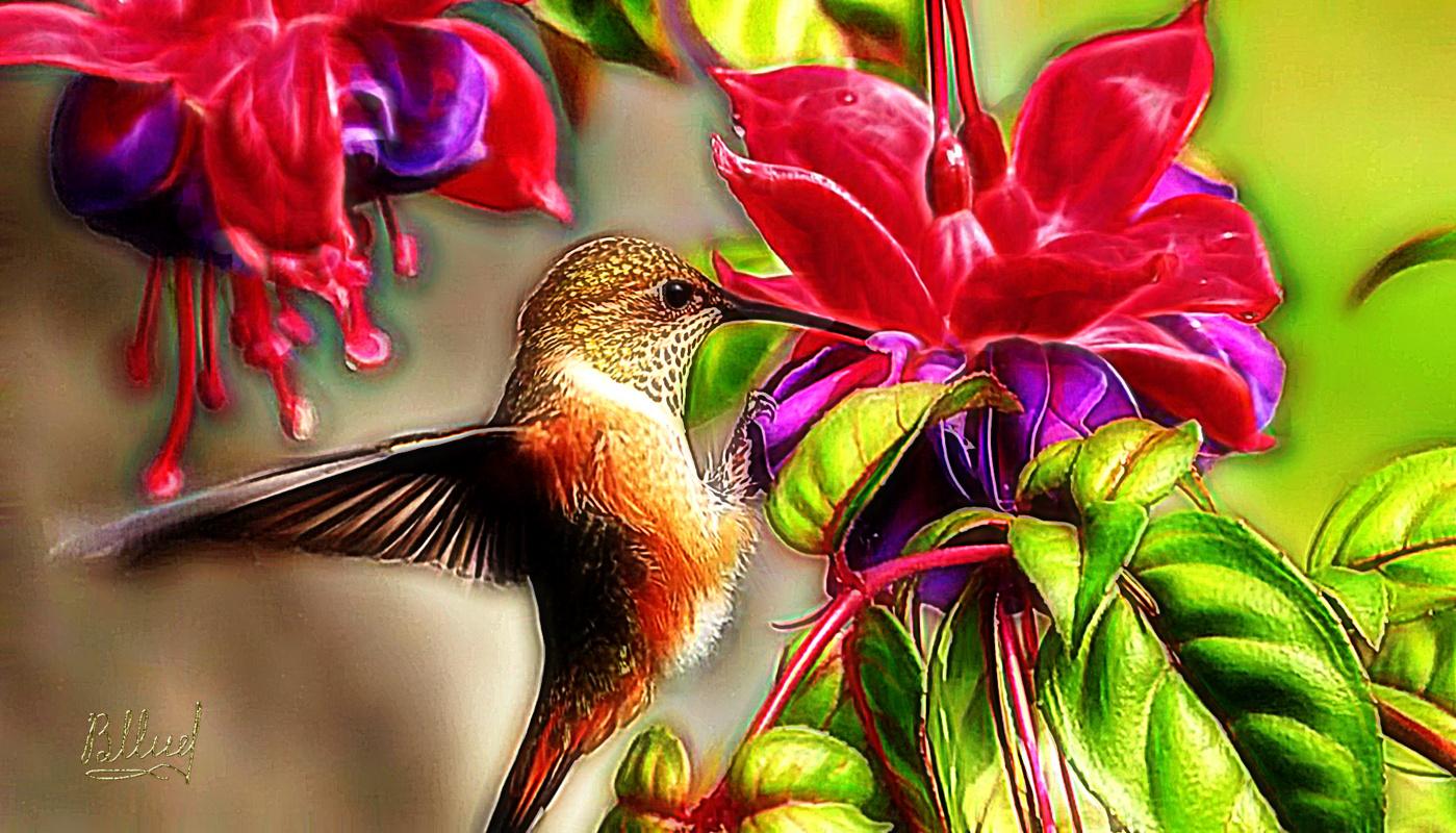 Vasiliy Mishchenko. Birds 006