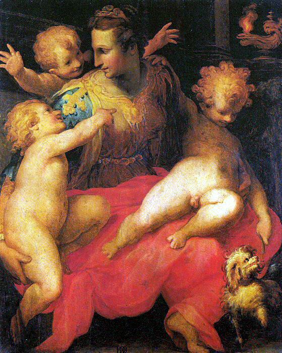 Да Франческо Морандини Поппи. Младенцы