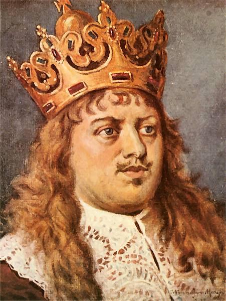 "Jan Matejko. Mikhail Koribut Vishnevetsky. Series ""Portraits of Kings and Princes of Poland"""