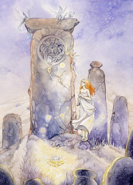 Stephanie Lowe. Standing stones
