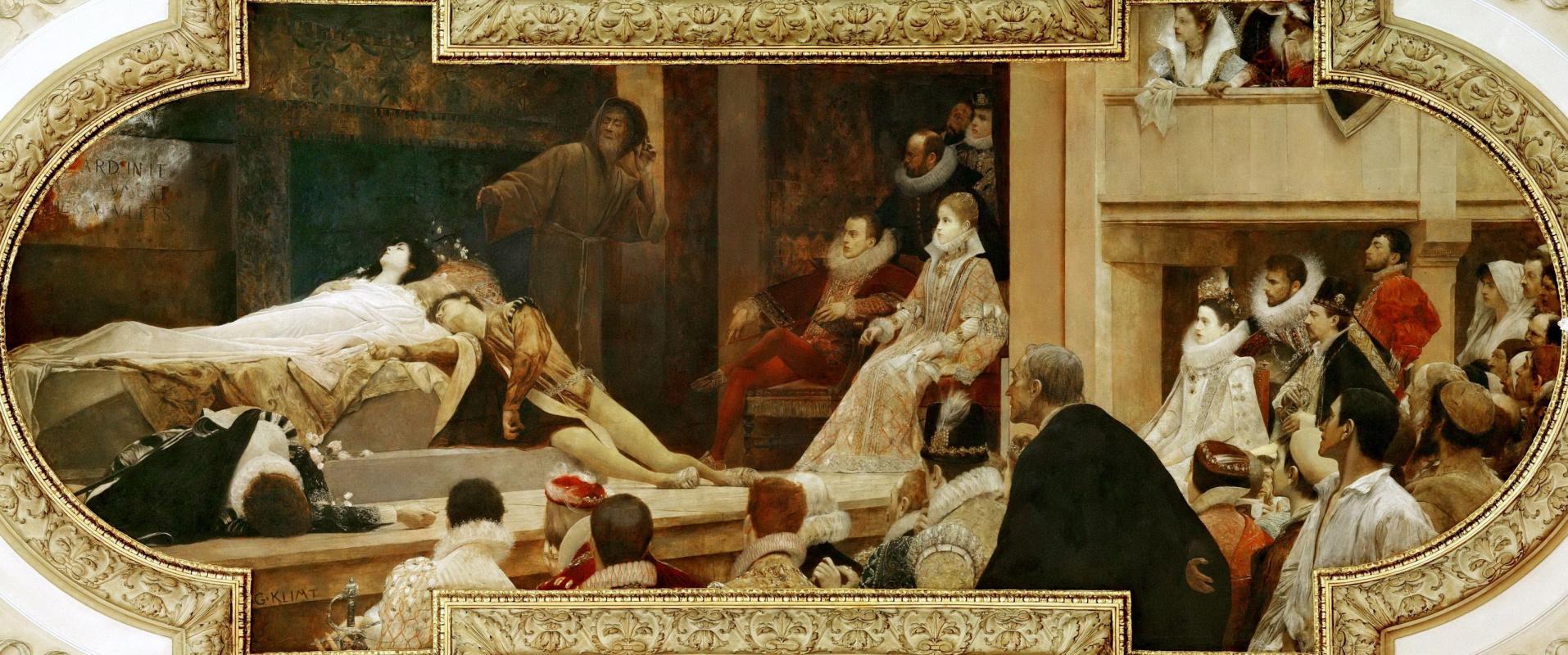 Gustav Klimt. Shakespeare theatre (ceiling Painting at the Burgtheater in Vienna)