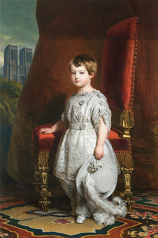 Franz Xaver Winterhalter. Louis-Philippe albert of orléans, count of Paris
