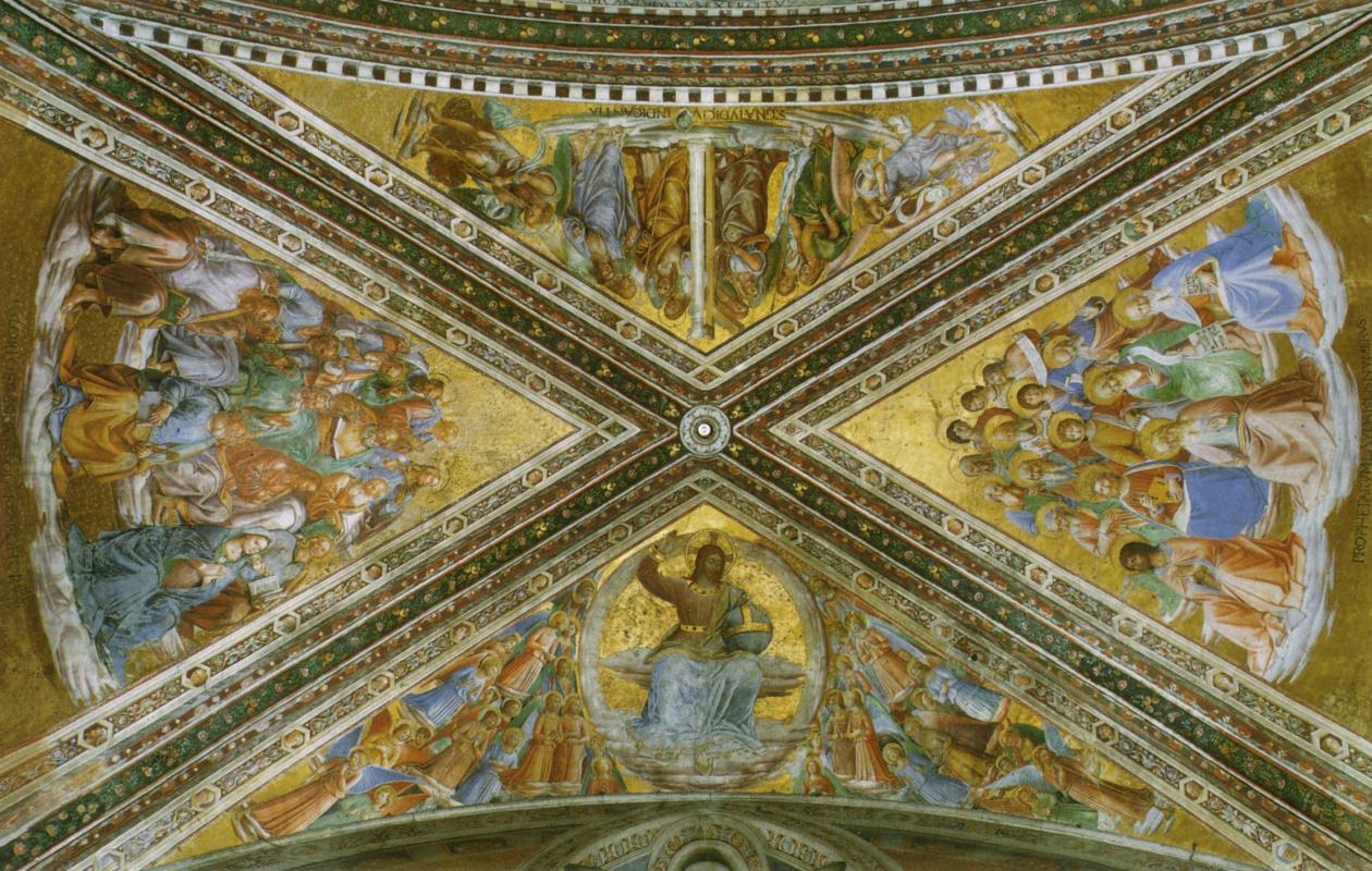 Фра Беато Анджелико. Роспись потолка капеллы Мадонны ди Сан-Бризио в Орвието, Италия