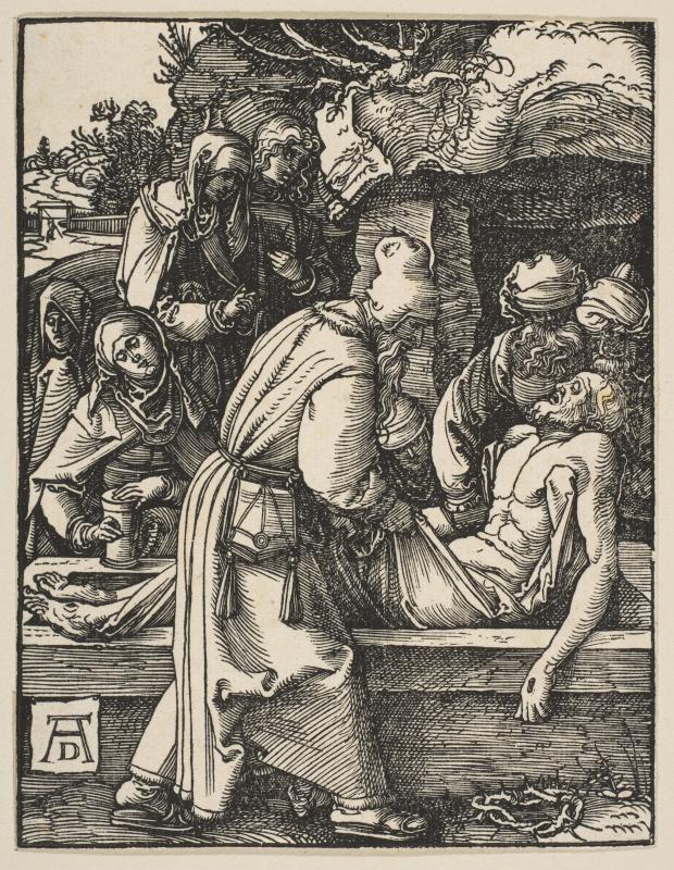 Albrecht Durer. The Burial Of Christ