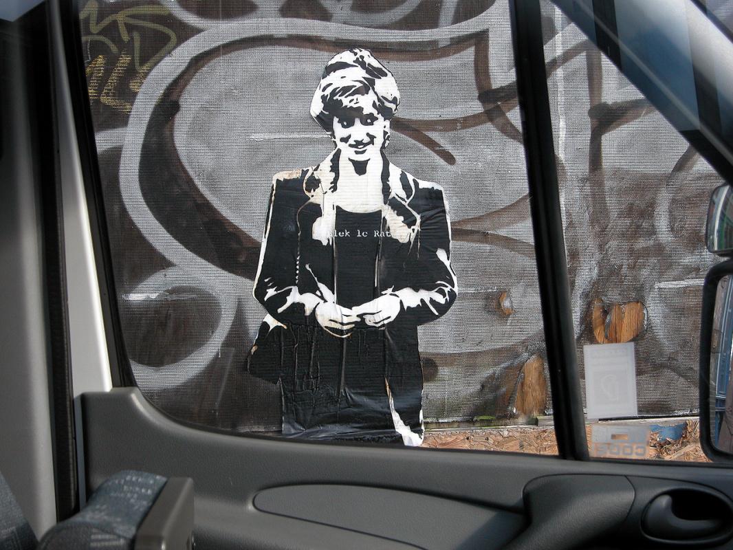 Black Le Rat. Lady Diana