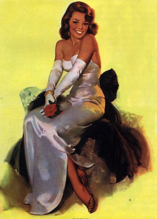Эл Буэлл. Радостная женщина