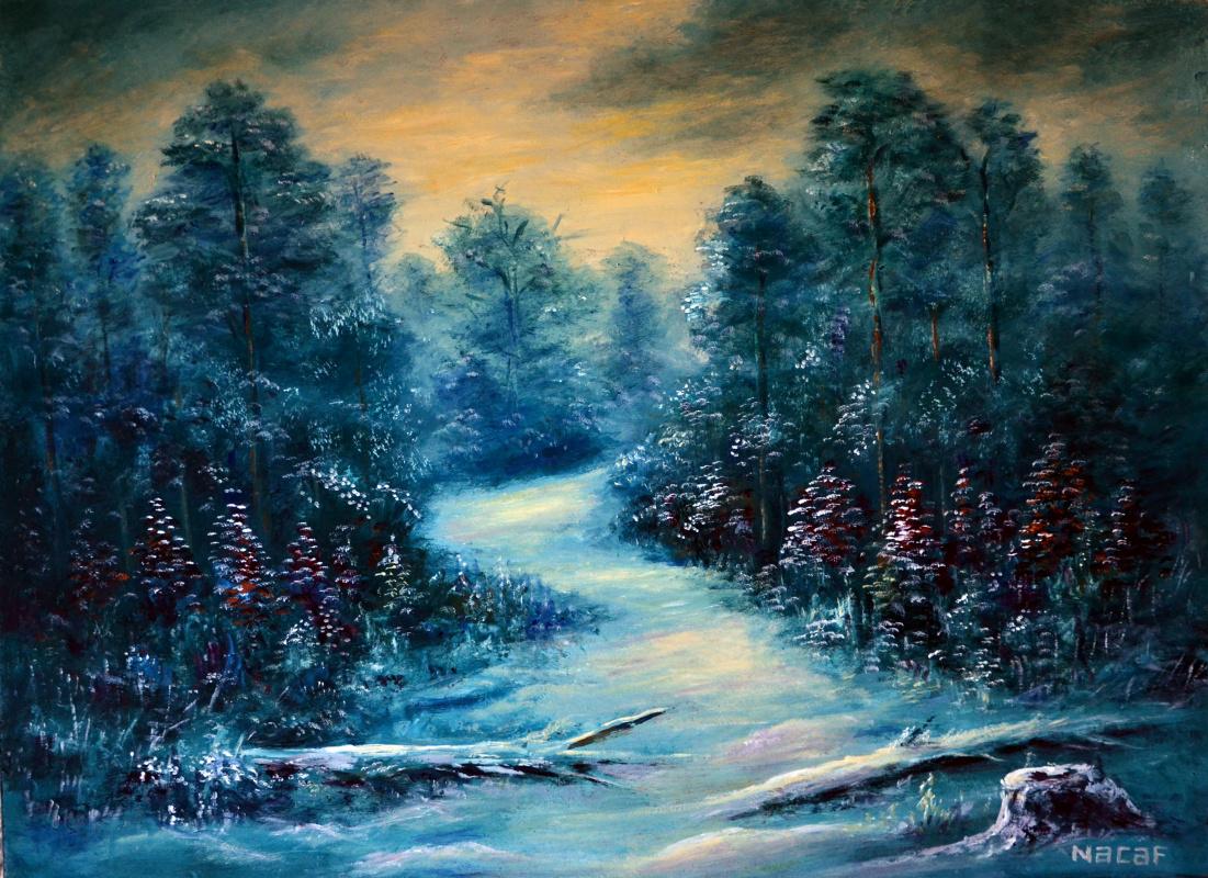 Наджаф Мамедов. Зима