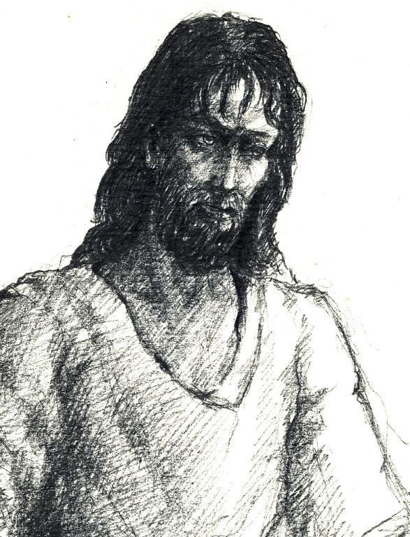 Олег Деньгинов. Думы (деталь)