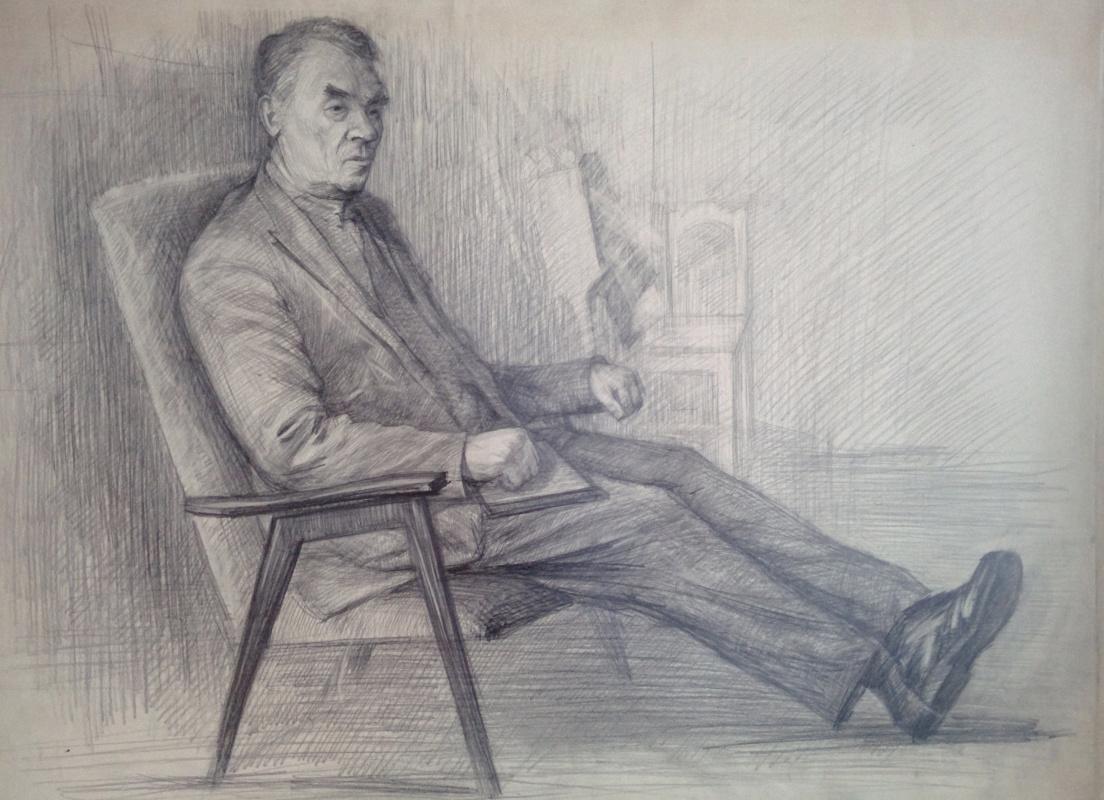 Дмитрий Аркадьевич Лаптев. Пожилой мужчина