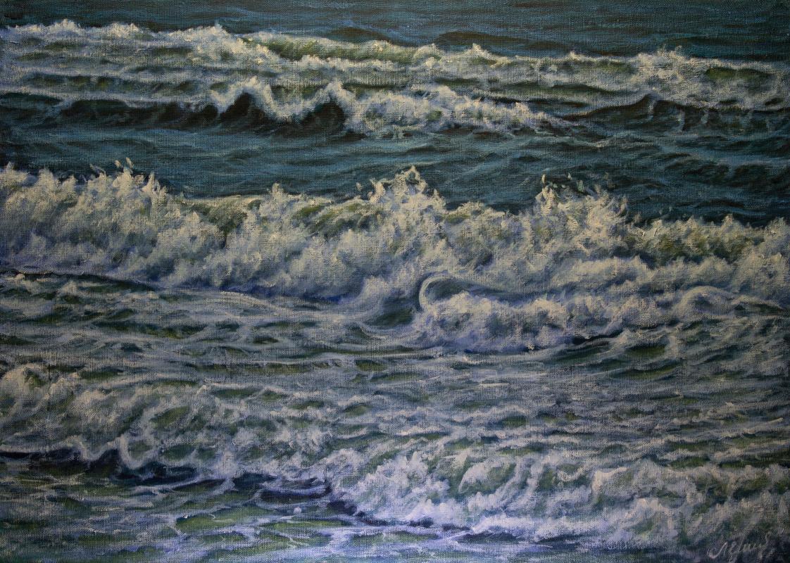 Valery Levchenko. №603  Морской пейзаж.