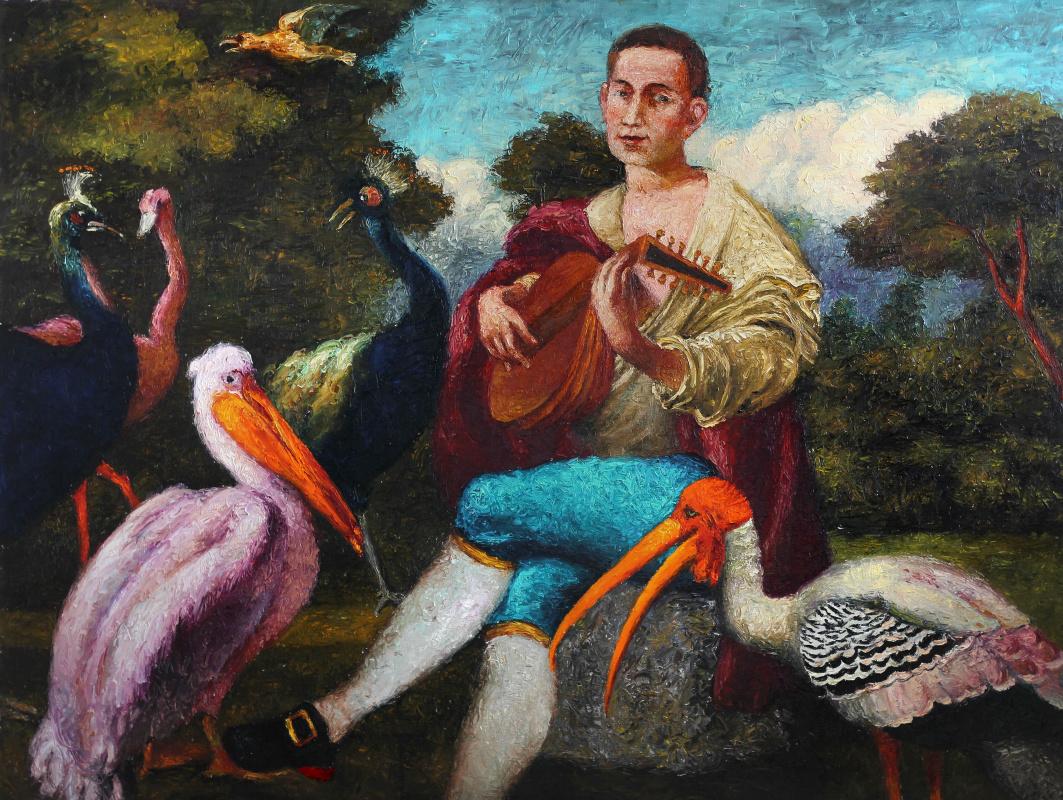 Alexander Anatolevich Roitburd. Pan in the Garden of divine songs