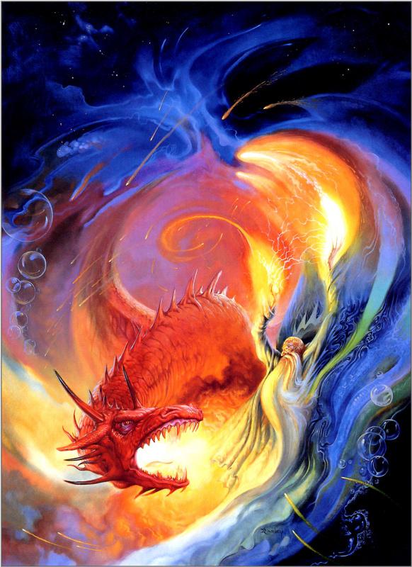 Джефф Исли. Волшебник и дракон