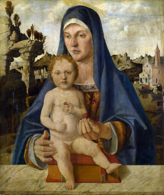 Бартоломео Монтанья. Дева с младенцем