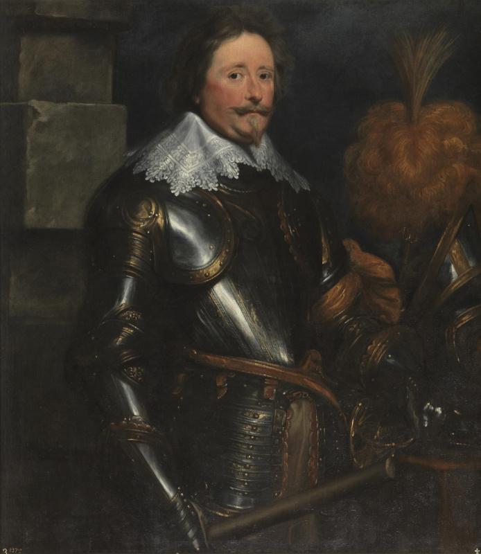 Anthony van Dyck. Frederick Hendrick Nassau, Prince of Orange